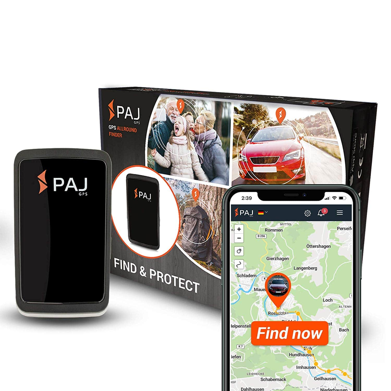 PAJ allround Finder